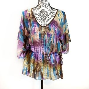 Will Smith Sheer Tunic Size L